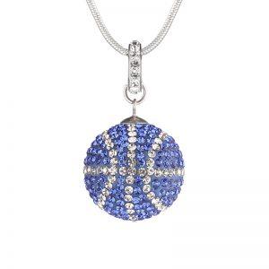Large Basketball Necklace