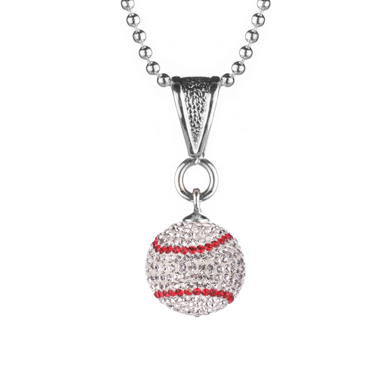 Mini Baseball Necklace